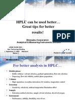 2e HPLC Better Great Tips A