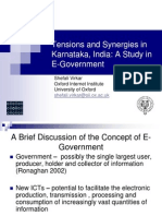 Tensions and Synergies in Karnataka, India