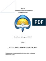 Jurnal MSDM Internasional