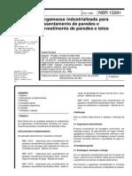 NBR 13281-1995 - Argamassa Industrializada Para Assentamento de Paredes e Revestimento de Paredes e Tetos