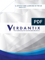 Verdantix Low Carbon Real Estate Fund Launched in the UK