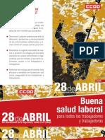 28 de abril dia internacional salud laboral