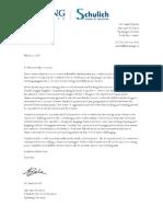 letter for jennifer andrsyszyn-nicaragua