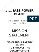 Biomass Power Plant-John Cox