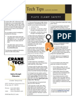 Plate Clamp Safety