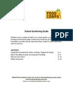 School Gardening Guide