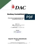 Pasos Para Implementacion Daceasy Contabilidad