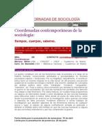 Xijornadas de Sociología - Mesa 88