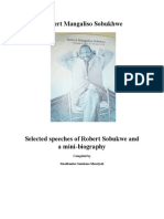 Speeches of r m Sobukhwe
