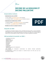 Medecine de La Douleur Et Medecine Palliative