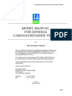 Model Manual for General Cargo Container Vessel Tcm4 75127
