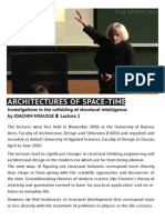 Ankuendigung Architectures of Space-Time Lectures1 f