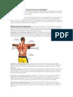 Exercícios de Musculação Ombros e Costas