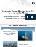 Albania oil and gas Summit 2015
