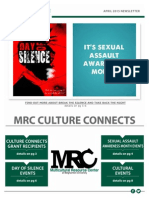 April MRC Newsletter