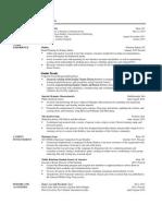 resume portfolio version