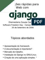 Aplicações rápidas para web com Django