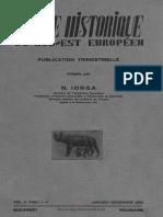 Revue historique du sud-est européen, 2, 1925 1