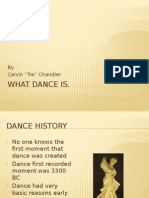 what dance is