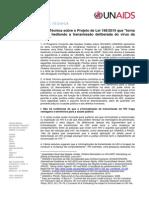 UNAIDS  se opõe ao Projeto de Lei 198/2015