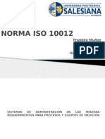 Norma Iso-10012 g2 Metro g1