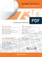 ISTRUZIONI 730 2015