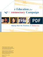 The Education for Democracy Campaign