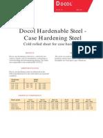 Docol Case Hardening Steel
