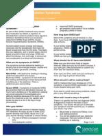 GA PIB-37 Ovarian Hyperstimulation Syndrome April 2013