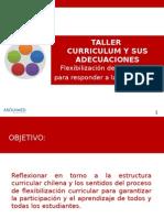 Taller Curriculum y Sus Adecuaciones Corregido
