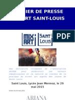 L'opération MIX ART Saint Louis 2015
