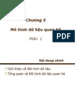 s6 - Chuong5 - Mohinh Csdl Qh - p1