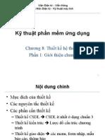 S14 Chuong8 ThietKe P1 GioiThieu
