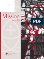 Journal of Lutheran Mission | April 2015