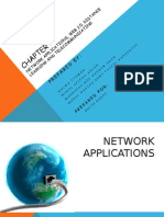 Network Applications, web 2.0, distance learning and telecommunicating