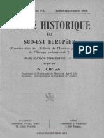 Revue Historique du Sud-Est européen 2, 1925 3