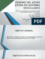 Dinámica Vehicular Trabajo 3