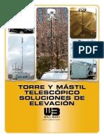 Spanish_Torre Y Mástil Telescópico Soluciones de Elevación