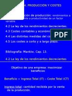 4. Produccion y Costos