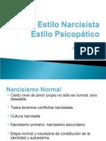 narcisismo y psicopatía clase 2010