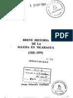 Arellano Jorge Eduardo_ Breve Historia de La Iglesia de Nicaragua