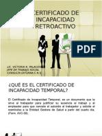 Certificado de Incapacidad