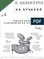 [Percussion-Bateria] Dante Agostini - Solfeo Sincopado 1