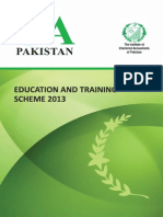 Education Training Scheme 2013