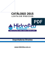 Catalogo Hidrofas 2015 Blower Sopladores