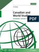 history curriculum- 9 & 10