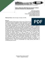 Comparação Do Perfil Graxo de Amostras de Óleo de Tungue Com Diferentes Períodos de Armazenagem
