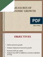 Measures of Economic Growth