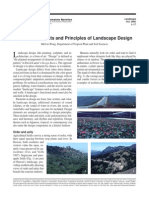 General Elements and Principles of Landscape Design