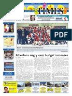 April 3, 2015 Strathmore Times